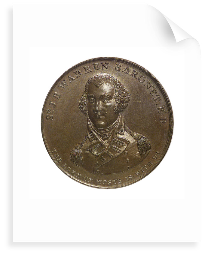 Medal commemorating the action off Tory Island, 1798 and Admiral Sir John Borlase Warren (1753-1822); obverse by unknown