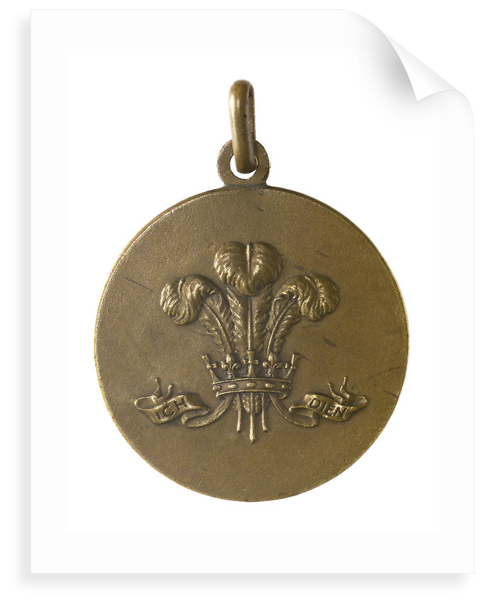 Medalet commemorating HMS 'Prince of Wales'; obverse by unknown