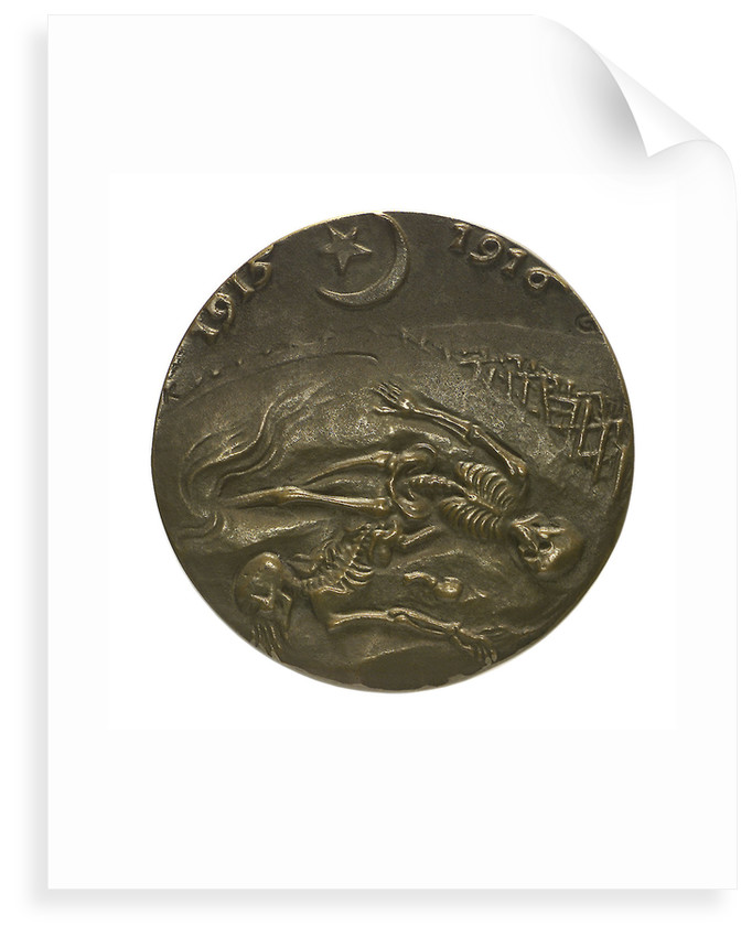 Medal commemorating the Gallipoli campaign; reverse by Karl Goetz