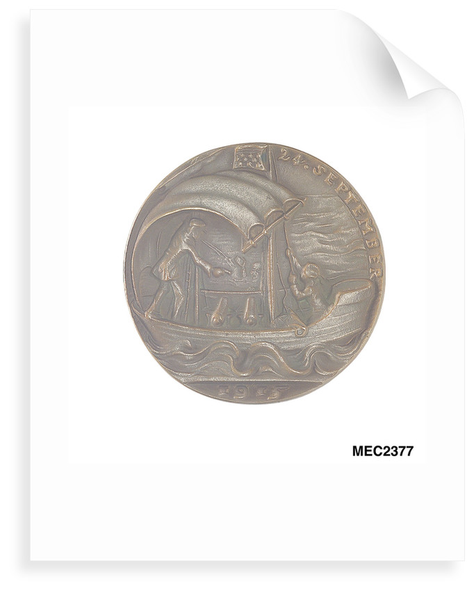 Medal commemorating the sinking of 'U41' by Q-ship 'Baralong', 1915 by Karl Goetz