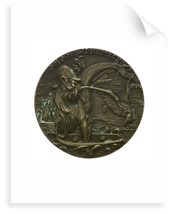 Medal commemorating the home-coming of SMS 'Möwe' by Karl Goetz