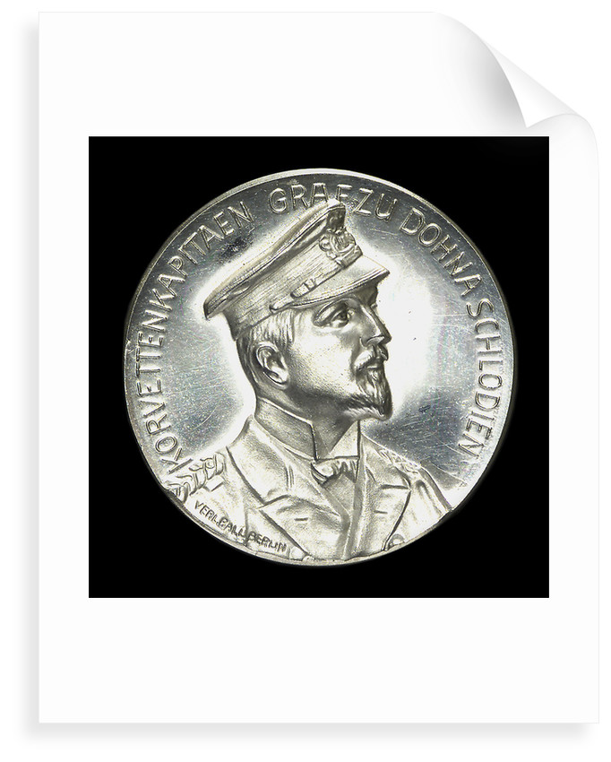 Medal commemorating Captain Count Dohna-Schlodien and the return of the 'Moewe' by M. Gotze