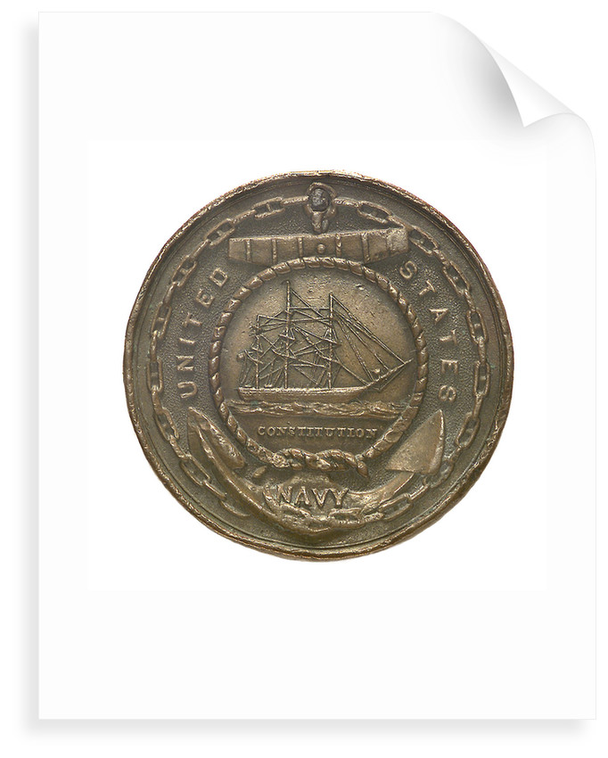 Token commemorating the United States Navy; obverse by unknown