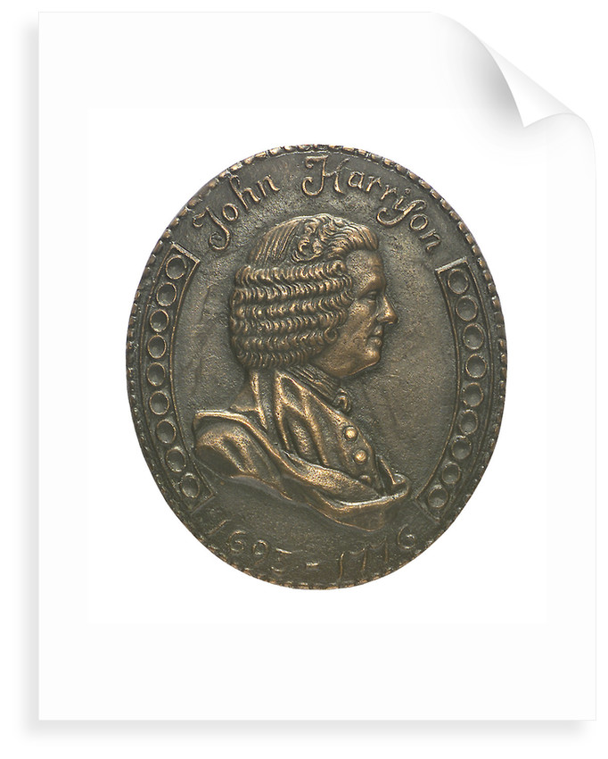 Medal commemorating the bicentenary of John Harrison's death, 1976; obverse by William Andrews