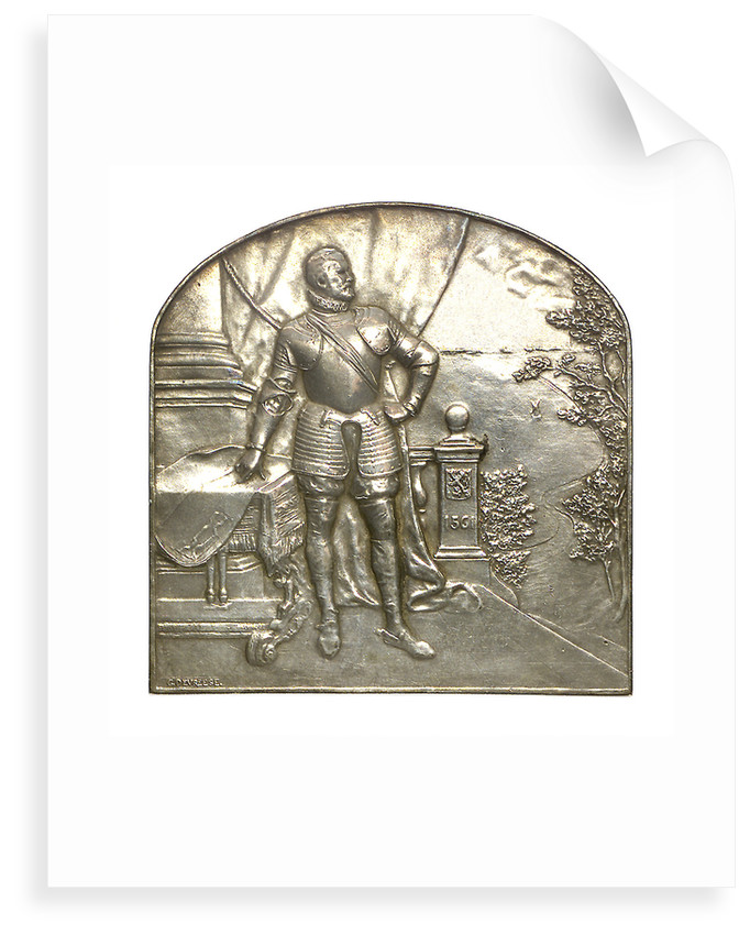 Medal commemorating the Maritime Installations, Brussels; reverse by G. Devreesa