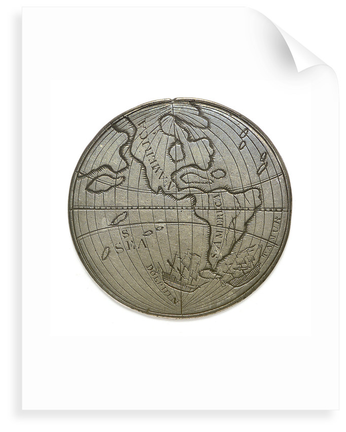 Byron's voyage around Cape Horn 1764-1766; reverse by unknown