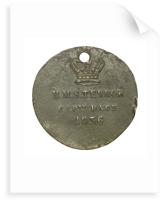 Medal commemorating the voyage of HMS 'Terror' 1836-7; obverse by unknown