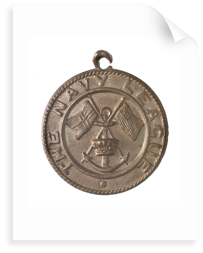 Medal commemorating the Navy League; obverse by unknown