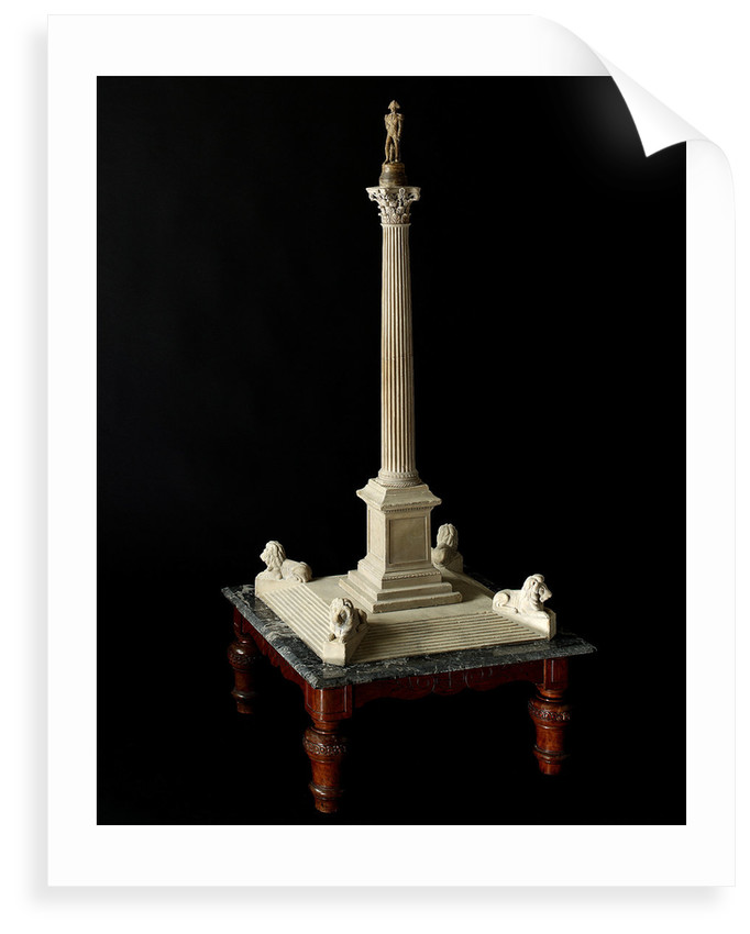 Architect's model of Nelson's Column by William Railton
