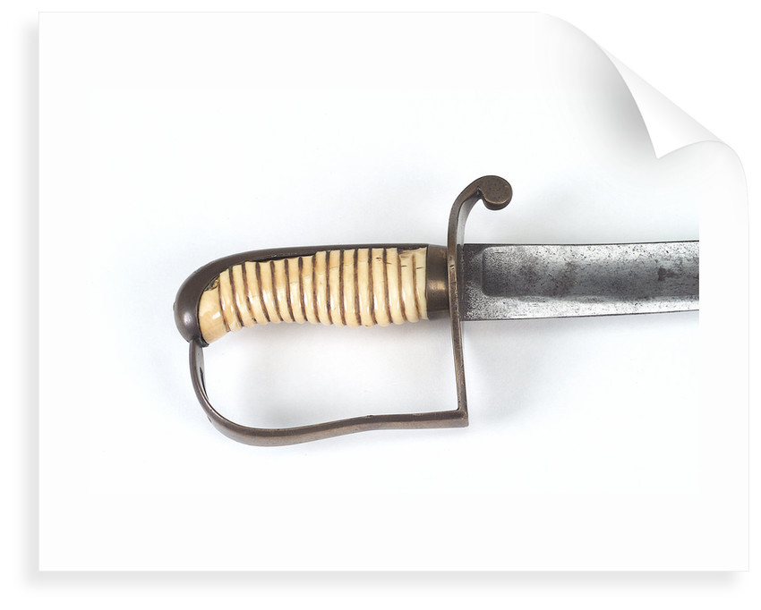 Hilt of Light Cavalry-type sword by F. Thurkle