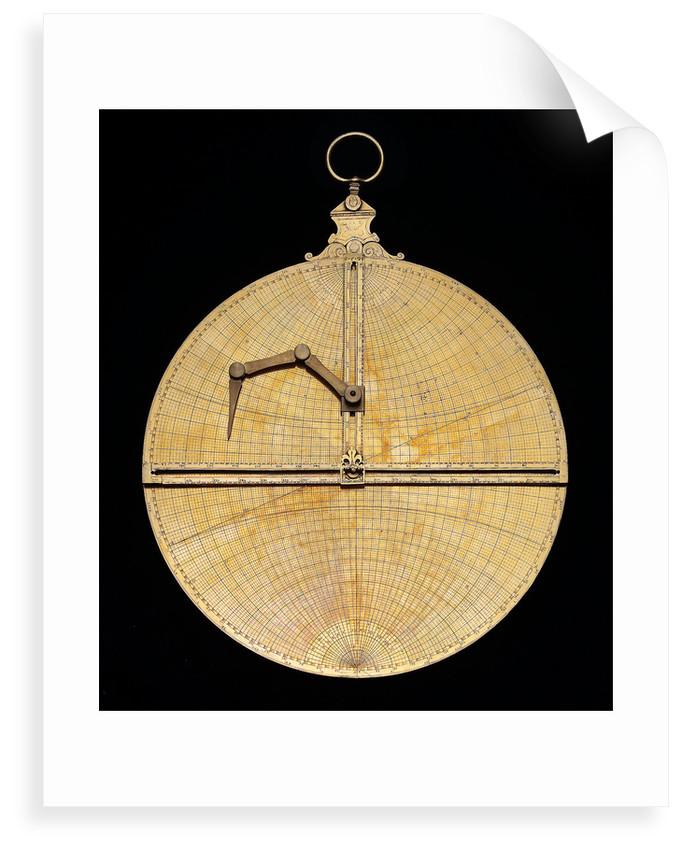 Astrolabe: mounted reverse by Heidelberg School