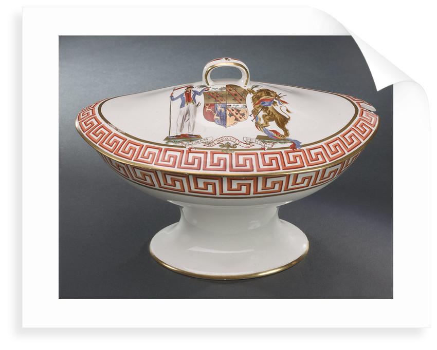Creamware tureen by Wilson