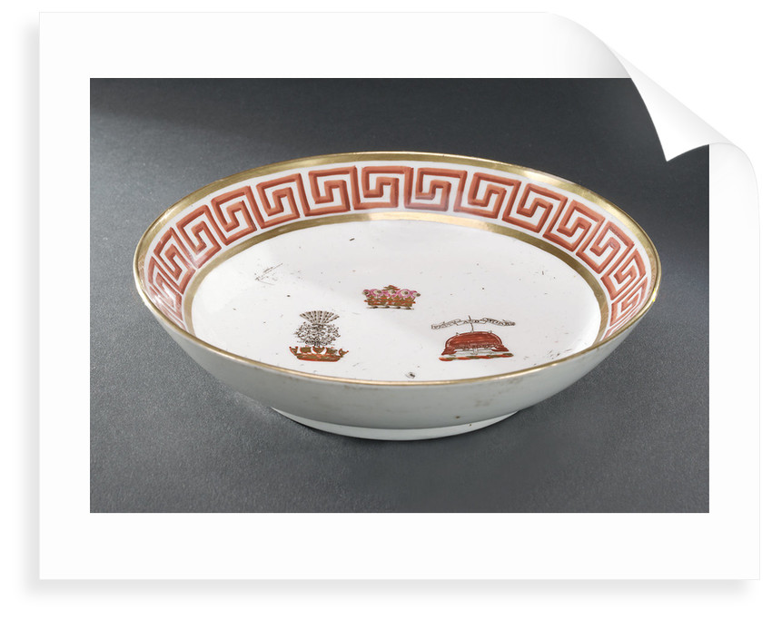 Saucer by John Rose & Co.