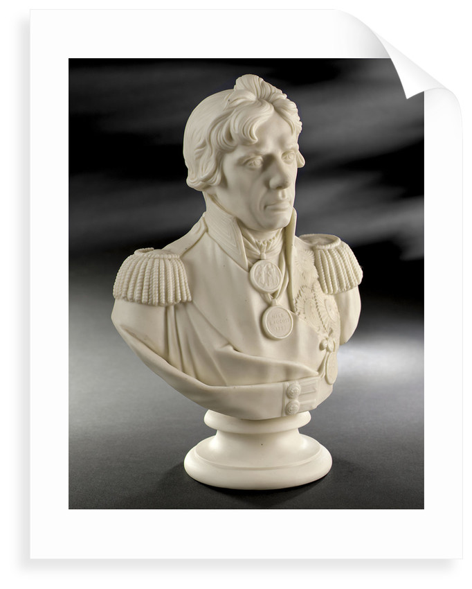 Parian ware bust of Vice-Admiral Horatio Nelson (1758-1805) by W.T. Copeland & Sons Ltd.