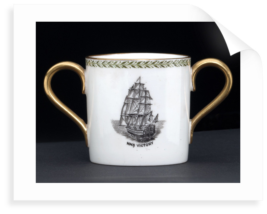 Loving cup commemorating the Trafalgar centenary by Josiah Wedgwood & Sons Ltd.