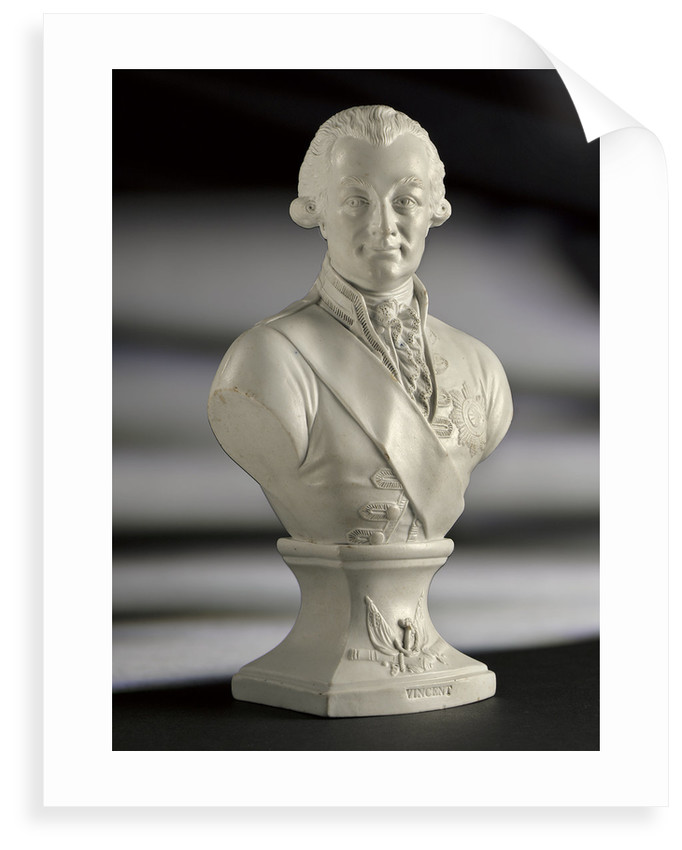 Bust of Admiral of the Fleet John Jervis, 1st Earl of  St Vincent (1735-1823) by Worthington