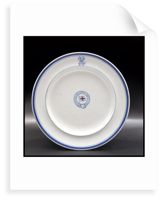 China plate by G. L. Ashworth & Bros Ltd.