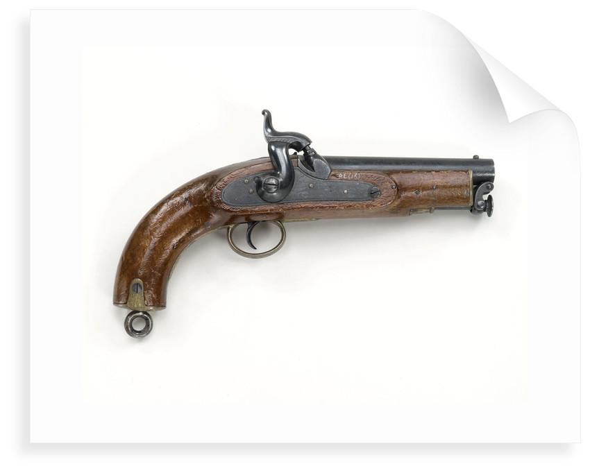 Sea Service pistol by W. Boden
