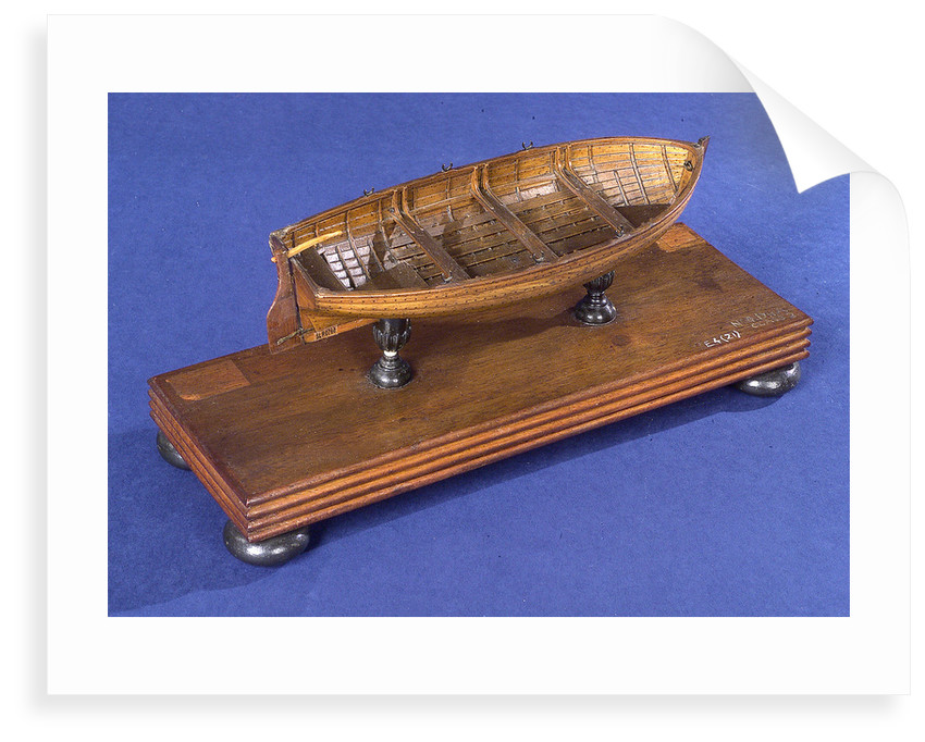 Dinghy, starboard stern quarter by unknown