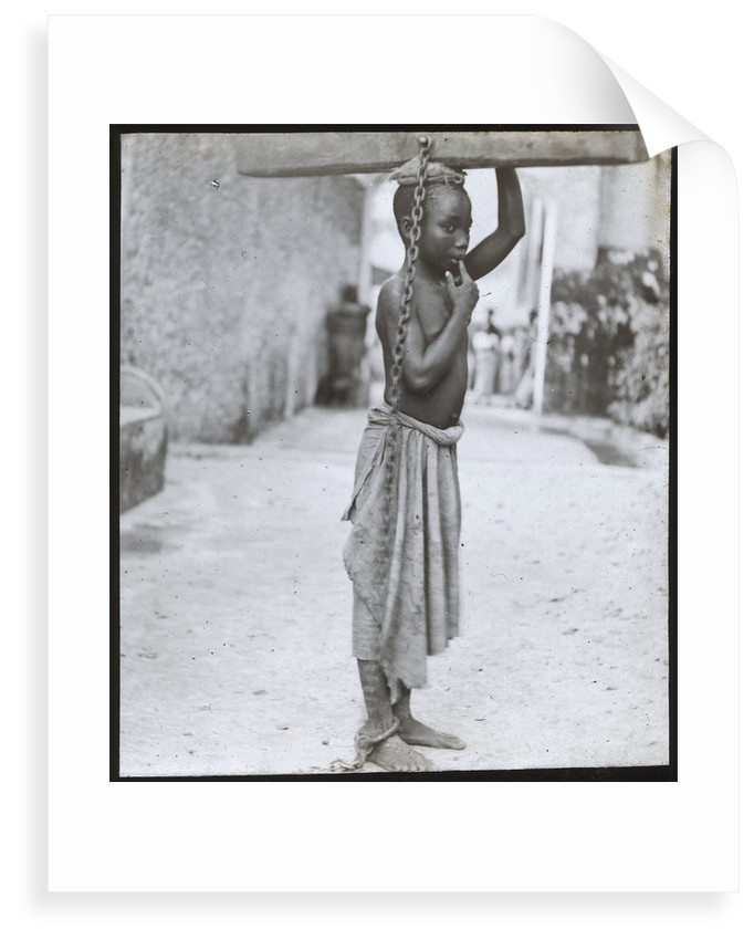 Slavery in Zanzibar by unknown