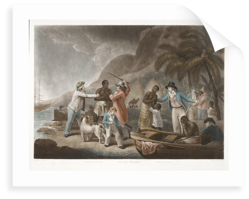 Slave Trade by John Raphael Smith