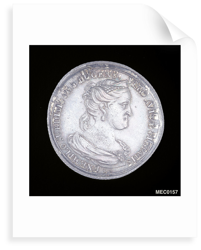 Medal commemorating Archduchess Marie Elizabeth, Governor General of the Austrian Netherlands by J. Roettier