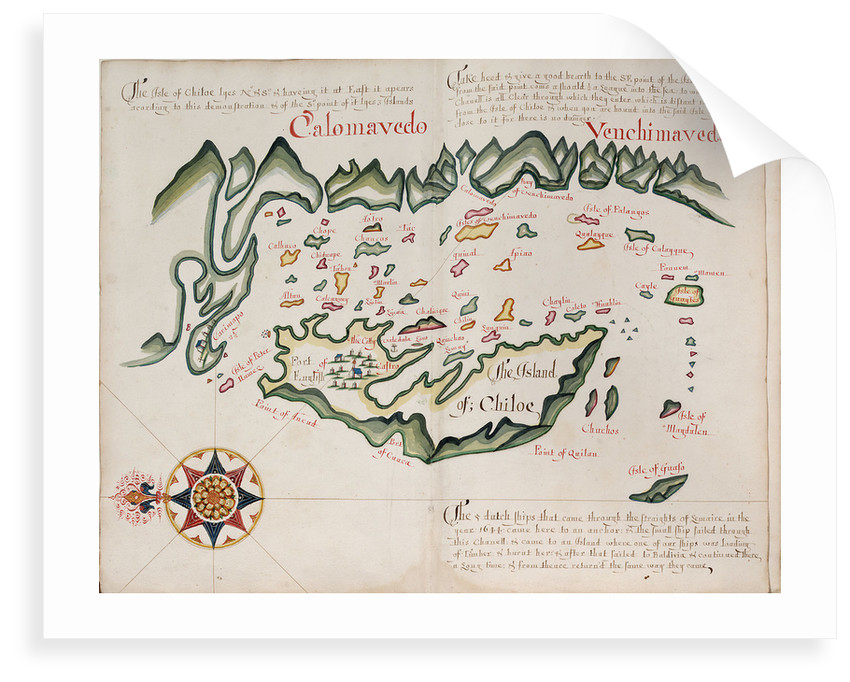 The island of Chiloe by William Hack