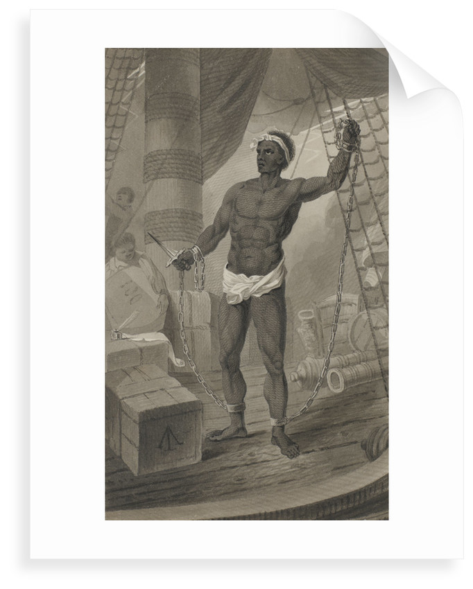 Slave on deck by George Cooke