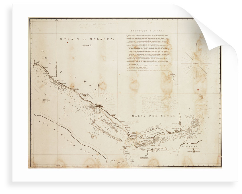 Strait of Malacca by unknown