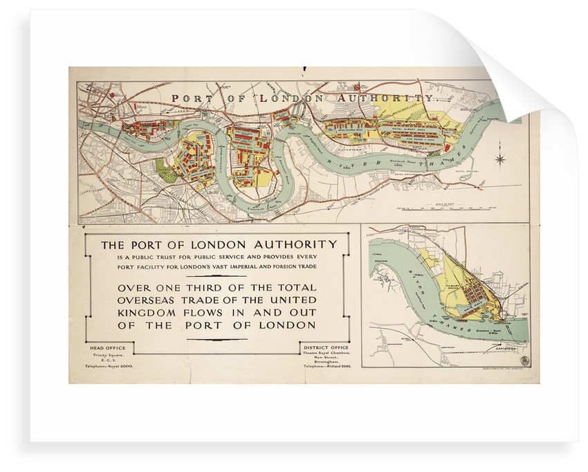The Port of London Authority by Port of London Authority