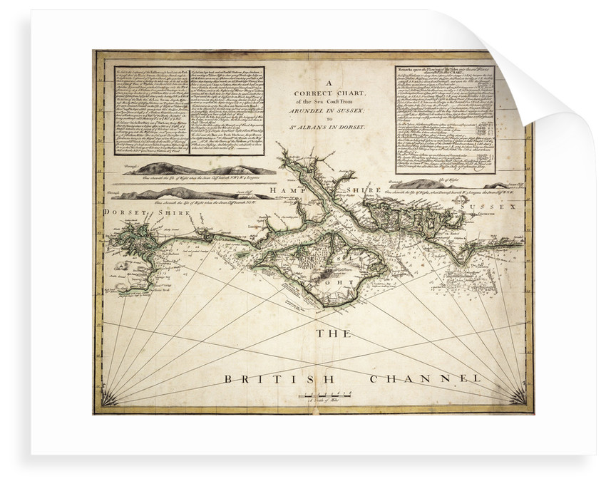 English Channel by unknown