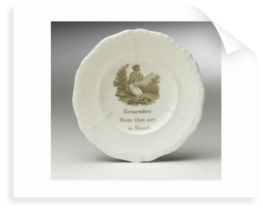 Abolitionist plate by unknown