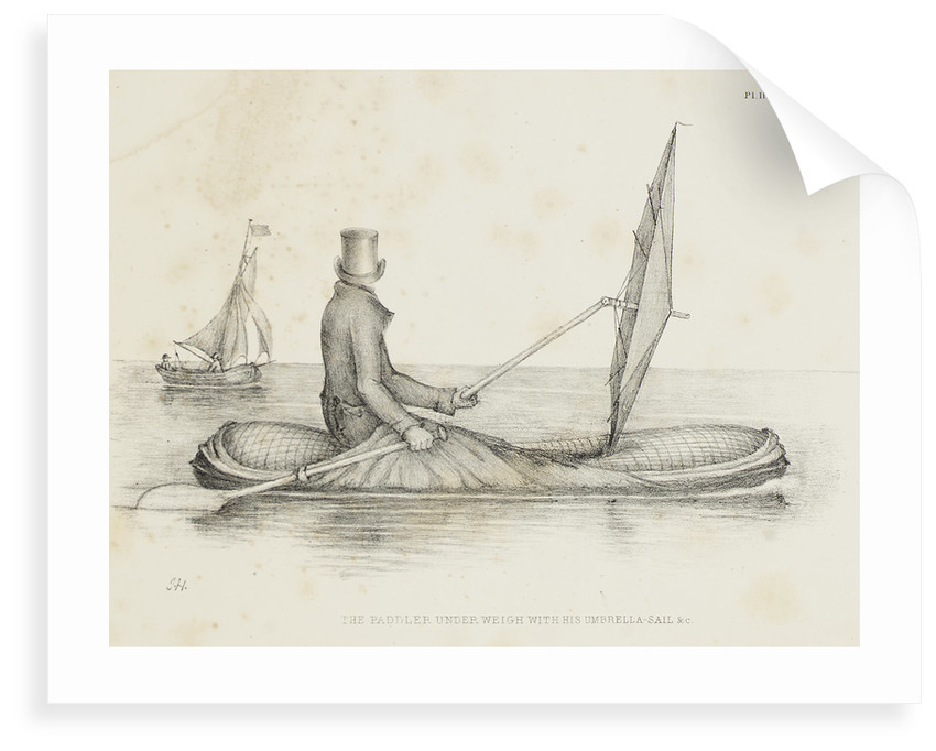 Halkett's boat-cloak or cloak-boat by unknown