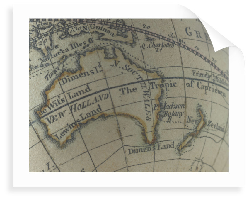 Australia and New Zealand by Dudley Adams