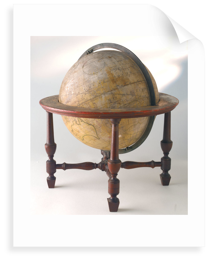 Sphere and stand by William Bardin