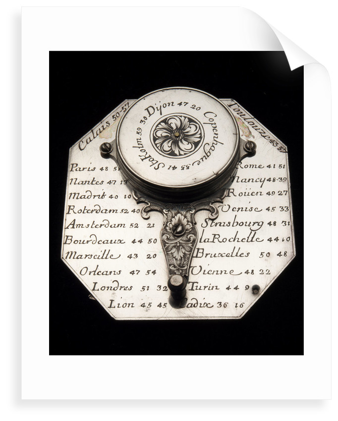 Butterfield dial, reverse by Macquart