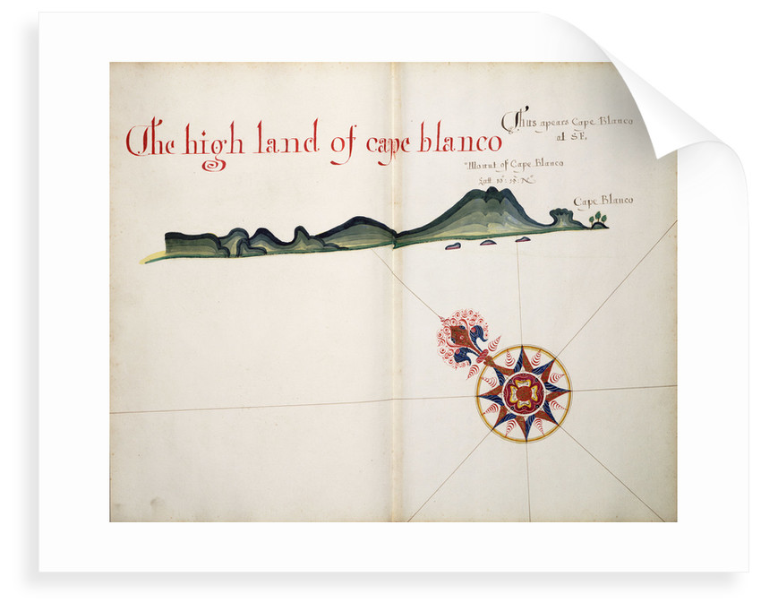 The High Land of Cape Blanco by William Hack
