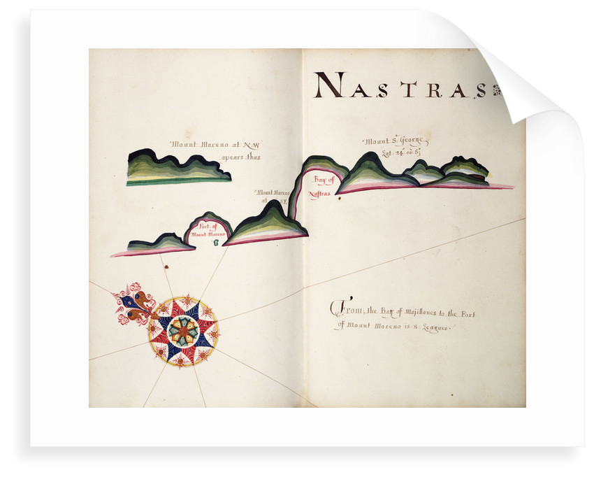 Nastras, South American Pacific coast by William Hack