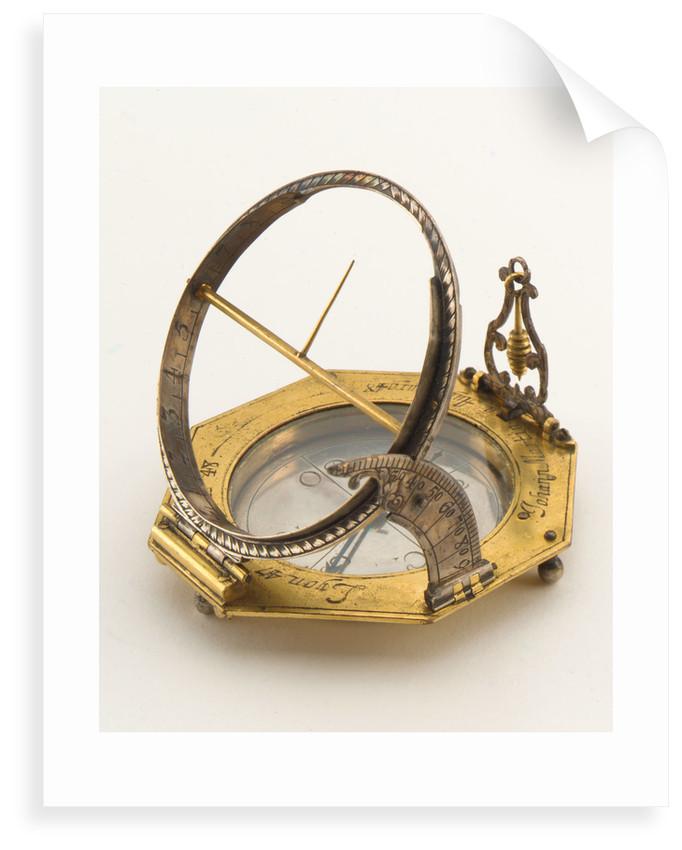 Augsburg dial by Johann Martin
