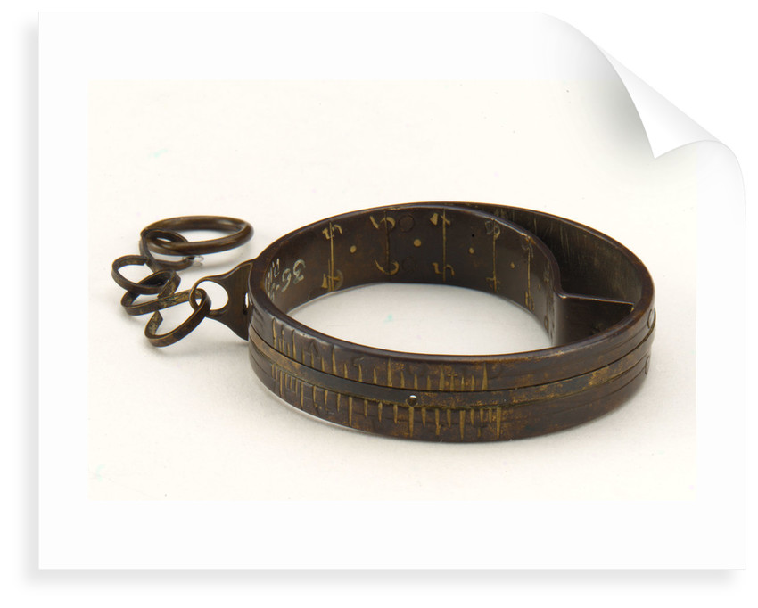 Ring dial by Johannes Zech