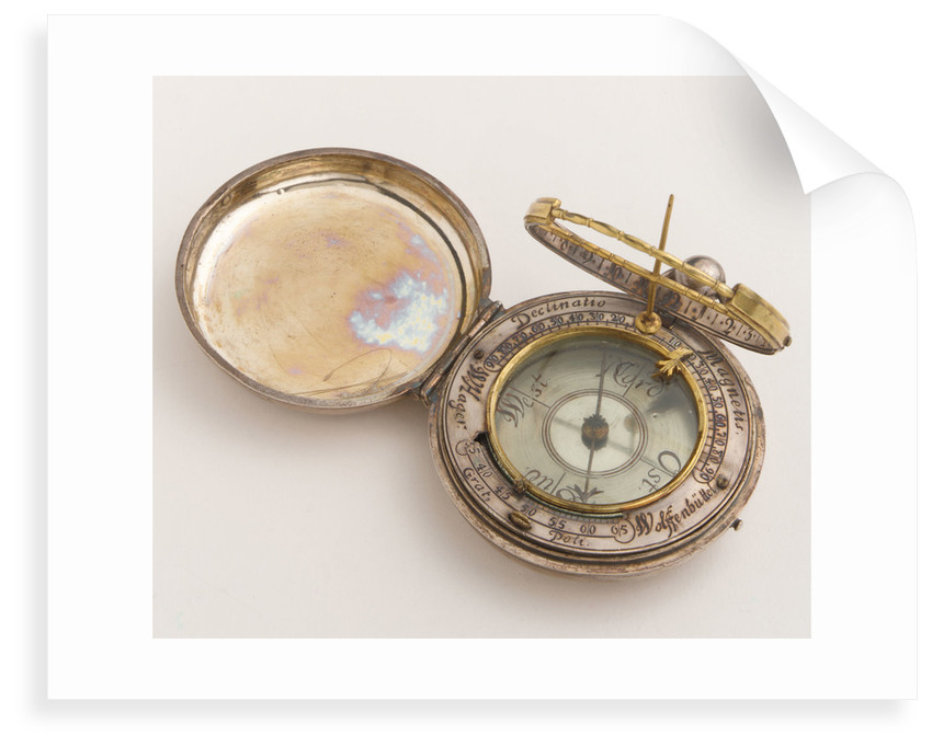 Equinoctial dial by Wolfgang Hager
