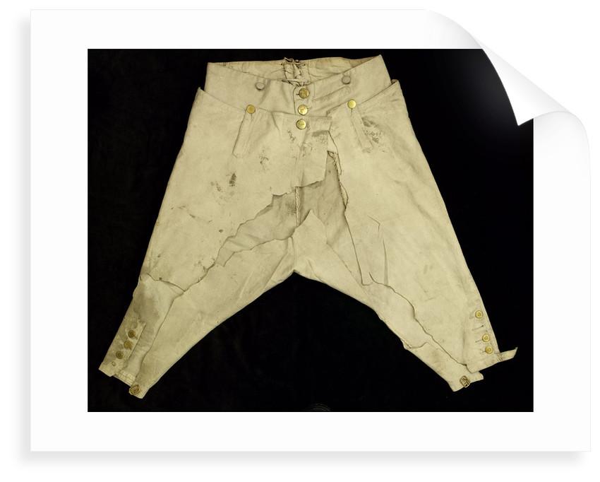 Royal Naval uniform: pattern 1795 by unknown