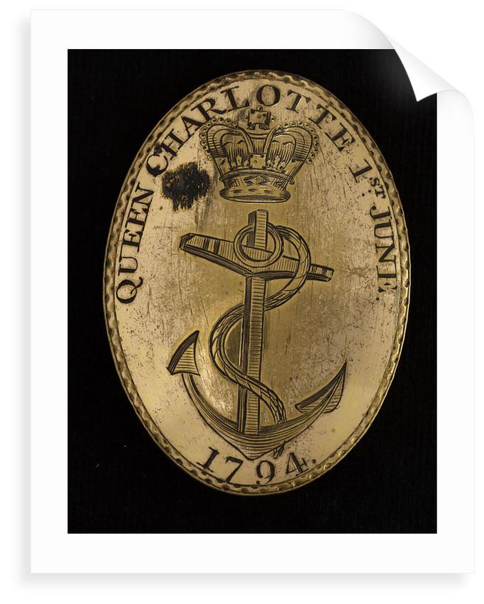 Royal Naval uniform by Francis Thurkle