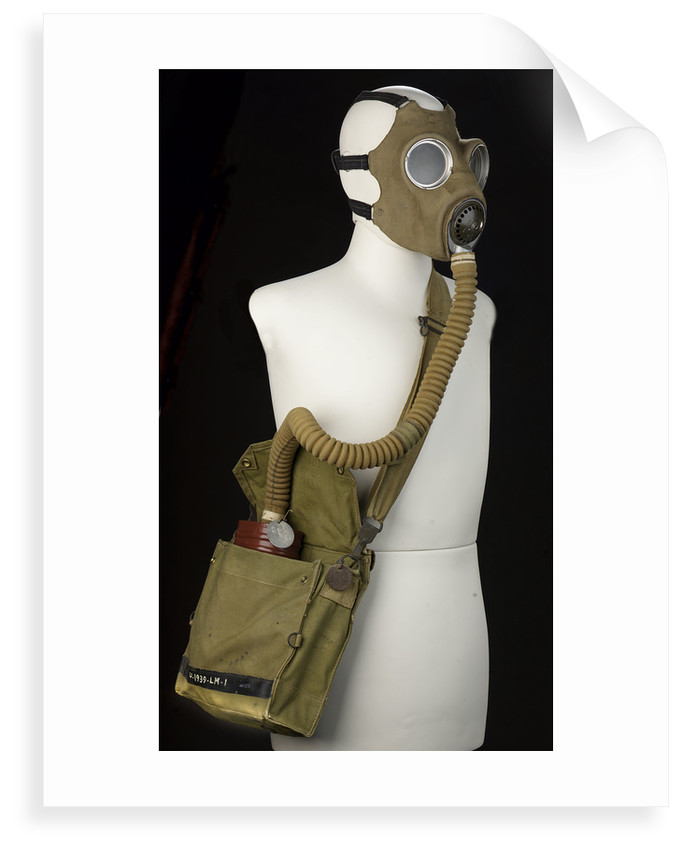 Non-regulation gas mask by unknown