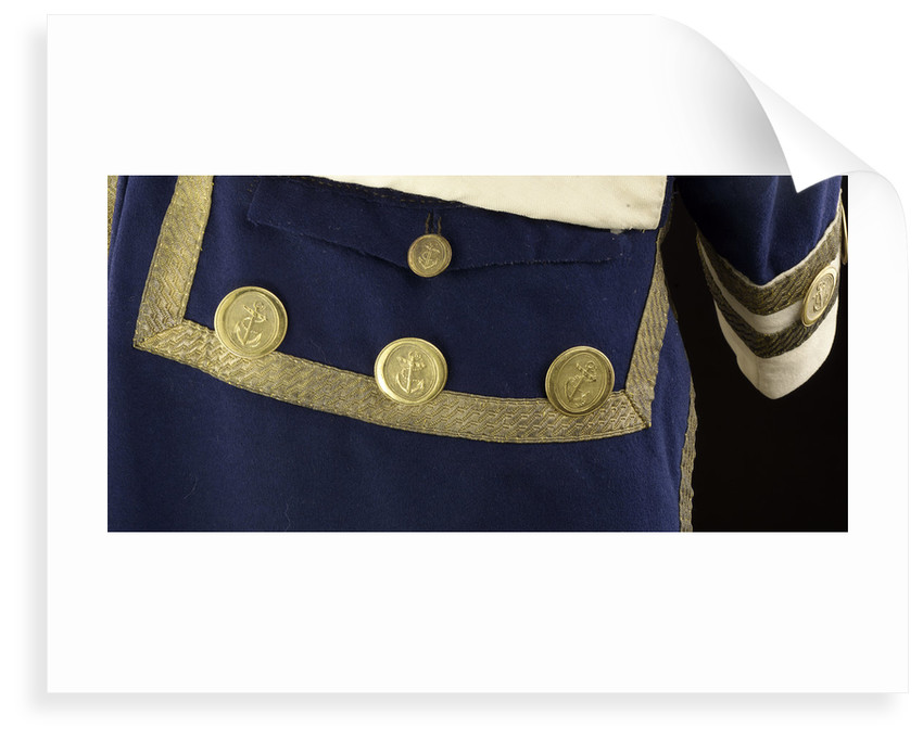 Royal Naval uniform: pattern 1787 by unknown
