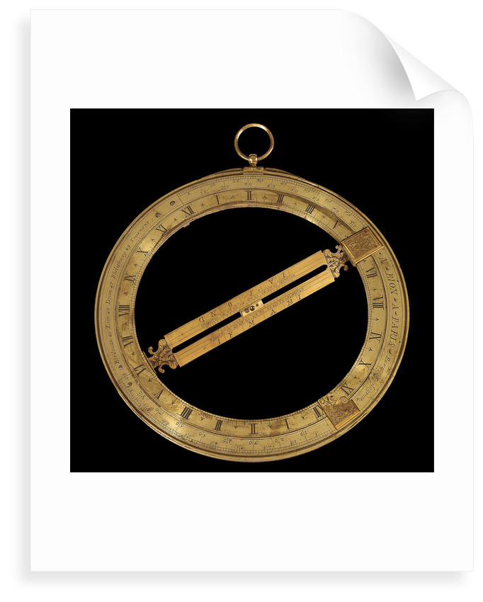 Universal equinoctial ring dial by Nicolas Bion