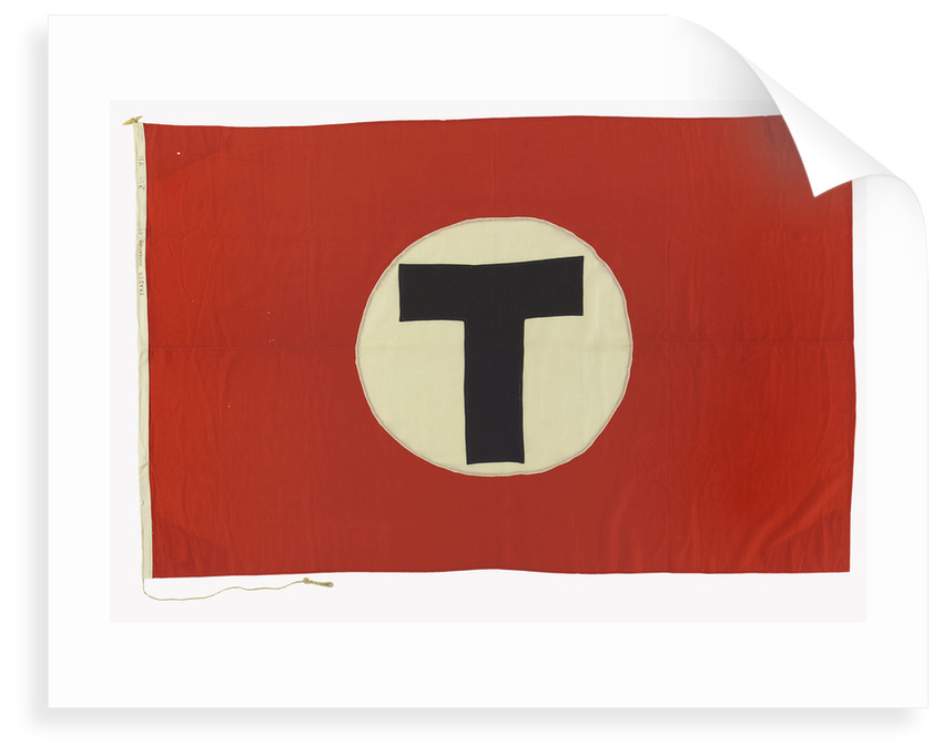 House flag, Trader Navigation Co. Ltd by unknown