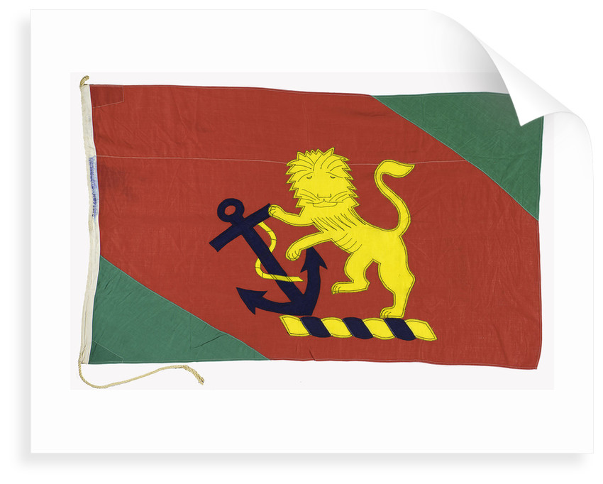 House flag, Eastern and Australian Steam Ship Co. Ltd by unknown
