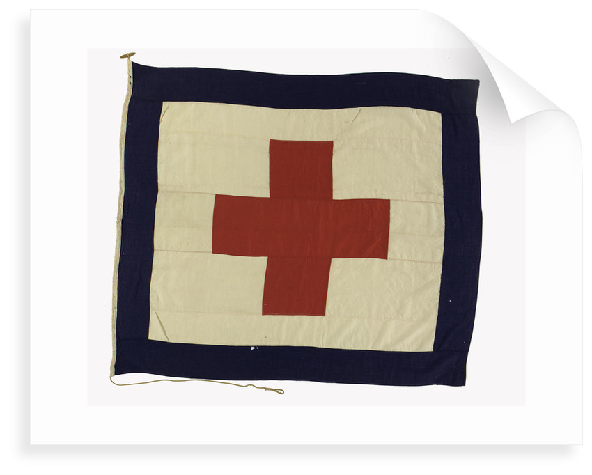 House flag, Rowland & Marwoods Steam Ship Co. by unknown