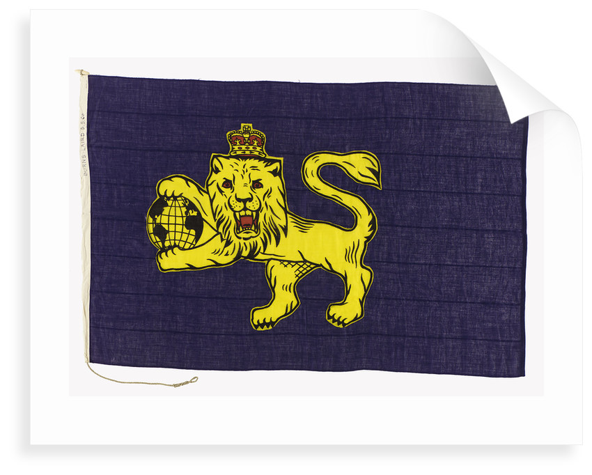 House flag, Burns and Laird Lines Ltd by unknown
